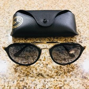 Ray-Ban Black Gold Sunglasses